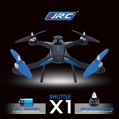 Original JJRC X1 RC Quadcopter Drone con Brushless Motor 2.4GHz 4CH 6Axis Gyro
