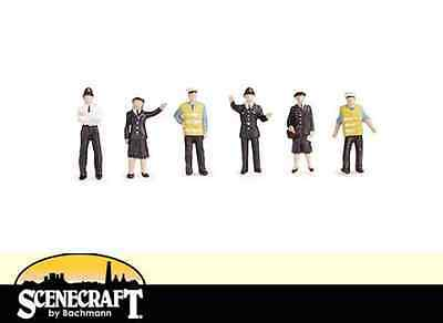 Bachmann 36-041 Police & Security Staff OO Gauge