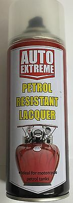 2 X !! Petrol Resistant Lacquer Paint Spray 400Ml High Gloss
