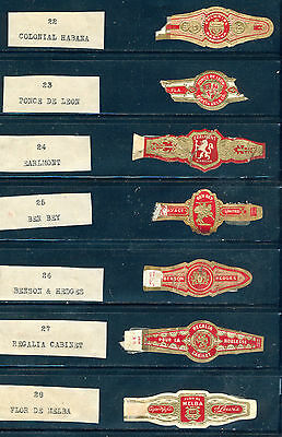 a stock page of used Cigar labels prior to 1940 from Canada(CL 1B)