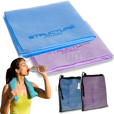 New Instant Cooling Towel Sports Gym Towel Drying Sweat Baby Absorb Dry Summer