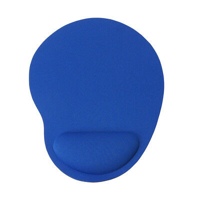 Blue 23cm*18cm*2mm Mouse Pad Smooth EVA Comfortable Irregular WRIST REST