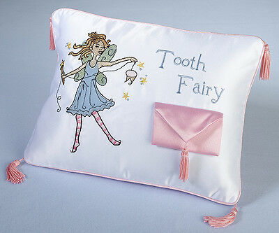 Tooth Fairy Pillow first birthday baby gift baby shower gift Girl Birthday Gift