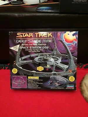 Star Trek Deep Space Nine Space Station Ds9 Command Base Playmates New Sealed