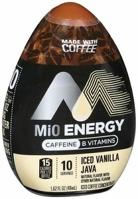 MiO Energy Iced Vanilla Java Iced Coffee Concentrate