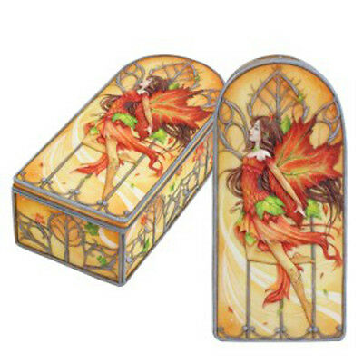 FALLFIRE Fairy Jewelry Trinket Box Meredith Dillman fall fire faerie faery
