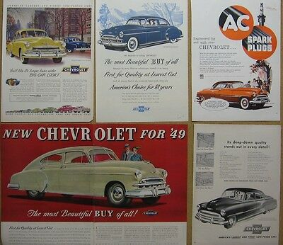 1949-1952 Chevy Ad Lot (11)