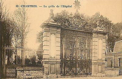 28 Chartres Grille Hopital