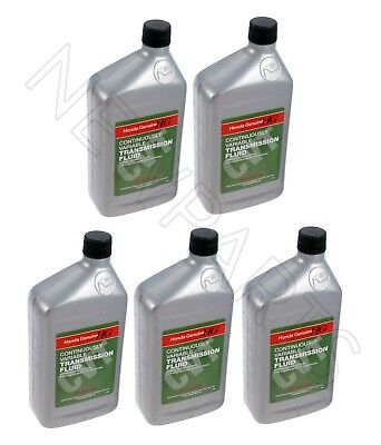 5 Quarts Pack GENUINE HONDA ATF Automatic Transmission oil CVT Fluid for Honda