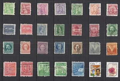 x7917 Other Central & South America / A Small collection Early & Modern  Used