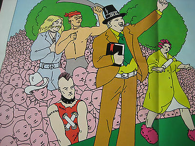 DEVO Warner Bros 1981 PROMO ONLY LP New Traditionalists + POSTER + Coalmine 7""