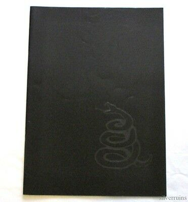 METALLICA Black Album Concert Tour Program Book 1991 92 ROAM