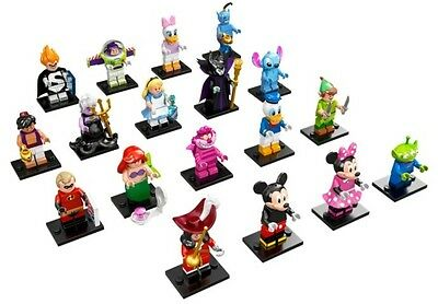 LEGO DISNEY SERIES Opened Complete SET 18 Packs 71012 COLLECTIBLE MINIFIGURES