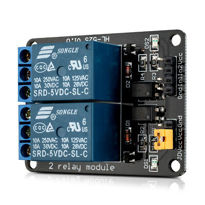 kwmobile  2 channel relay module with 5V for Arduino