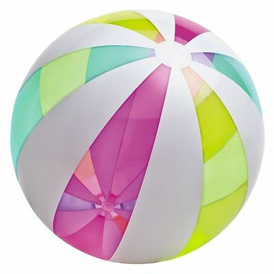 "Intex 42"" Jumbo Inflatable Summer Holiday Swimming Pool Beach Ball Float Toys"
