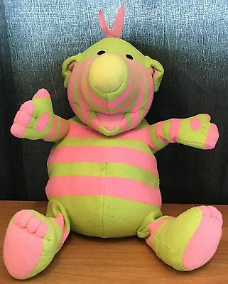 The Fimbles / Fisher Price 12 Inch Fimbling Feeling Baby Pom Talking Soft Toy Gc
