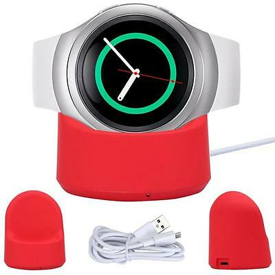 Portable Wireless Charging Dock Cradle Charger For Samsung Gear S2 720 730 732