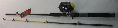 Zebco 808HSF702MHNS3 7 Ft 2 Pc Saltwater Combo Rod & Reel Med Heavy Action 21161