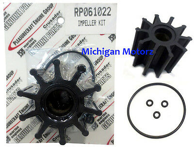 Crusader Impeller Kit with O-Ring, 5.7L, 6.0L and 8.1L - RP061022