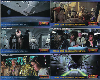 Star Wars Widevision A New Hope Set Of 7 Promo Cards