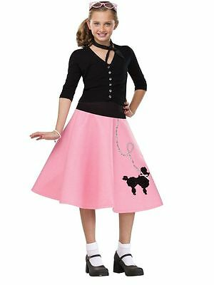 50s Poodle Skirt - Child Costume