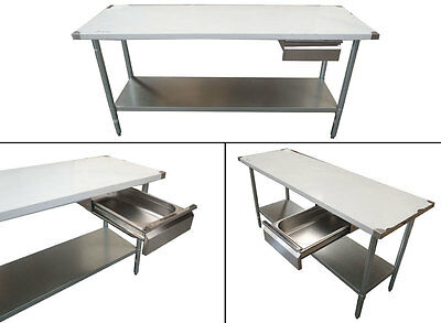 NEW UNIVERSAL DRAWER STAINLESS STEEL WITH GASTRONORM TRAY FOOD GRADE 150mm DEEP