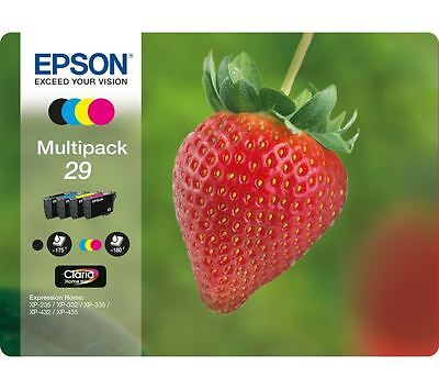 Genuine EPSON 29 Multipack Combo Pack Ink Cartridge For Expression Home XP435