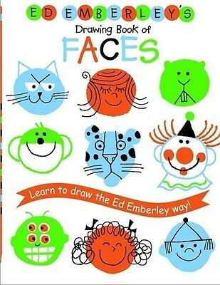Ed Emberley's Drawing Book of Faces (REPACKAGED)