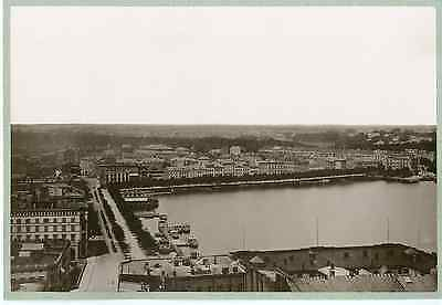 Allemagne, Hambourg, panorama  Vintage print Photomécanique  21x27  Circa