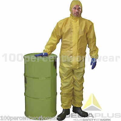 Delta Plus DT300 Overalls Coveralls Protective Suit Weed Killer Heavy Industrial