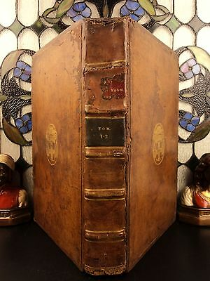 1615 HUGE FOLIO Pope Gregory I Great MIRACLES Greek Monastics Catholic Dialogues