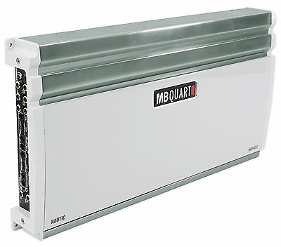 MB QUART NA540.6 540 RMS Watt 6-Channel Nautic Series Marine Boat Amplifier Amp