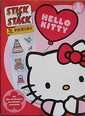 Hello Kitty / Stick & Stack / Panini / Sticker Spiel-Set / Neu