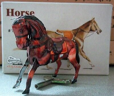 Bucking Bronco Horse Tin Toy 1910 Classic Wind Up Tin Toy Brand New