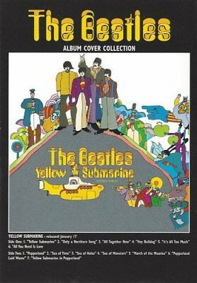 The Beatles - Yellow Submarine - Album Cover Collection Postcard - Postkarte NEU