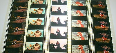 Disney's - The Fox And The Hound -  Rare Unmounted 35mm Film Cells - 5 Strips