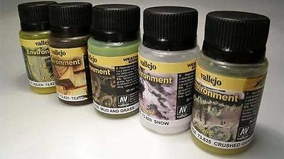 Vallejo Weathering Effects 40ml - Choice Of Effects