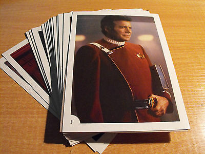 Star Trek Wrath Of Khan, Ftcc Set Of 30 Postcard Size Cards