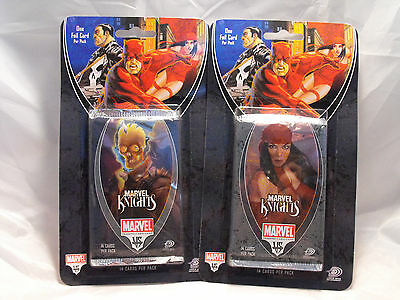 2 Vs System Marvel Knights Sealed Booster Packs