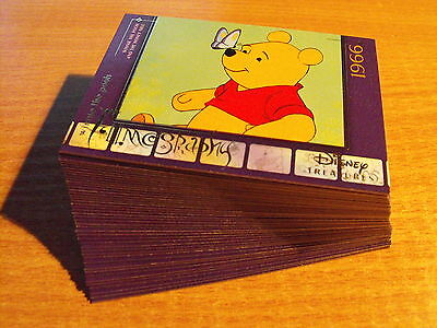 Disney Treasures Series 3 Complete Set Of 45 Winnie The Pooh Cards
