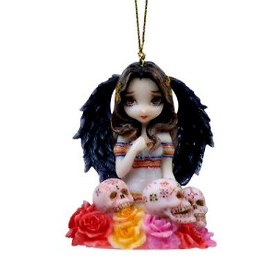 ANGEL DE LOS MUERTOS Fairy Ornament Jasmine Becket-Griffith Strangeling faery