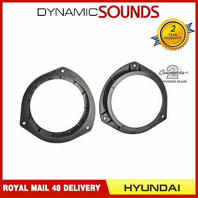 CT25HY10 165mm Front/Rear Door Car Speaker Adaptor For Hyundai i20 2015>