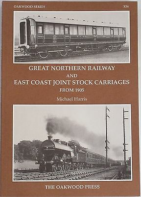 GNR STEAM RAILWAY HISTORY East Coast Joint Stock Carriages Great Northern Steam