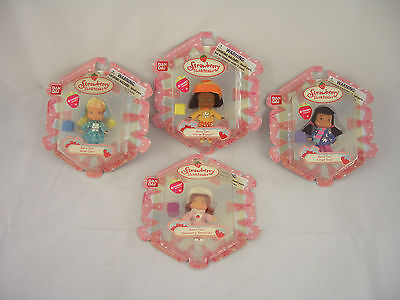 Strawberry Shortcake figures - Orange Blossom,Angel Cake, Ginger Snap, Shortcake