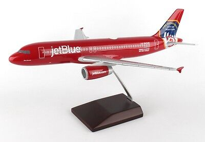 Jetblue Airbus A320 FDNY NYC Fire Dept N615JB Desk Top  Model 1/100 ES Airplane