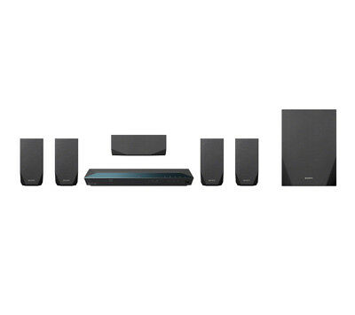 Sony BDVE2100 800W 5.1 Channel 3D Blu-ray and DVD Home Cinema - Black-From Argos