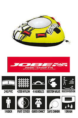 Bouee tractable Thunder - Jobe - 1 personne - towables - tube