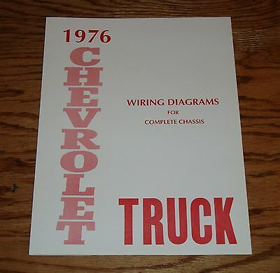 1953 1962 chevrolet corvette wiring diagram manual for complete 1976 chevrolet truck wiring diagram manual for complete chassis 76 chevy