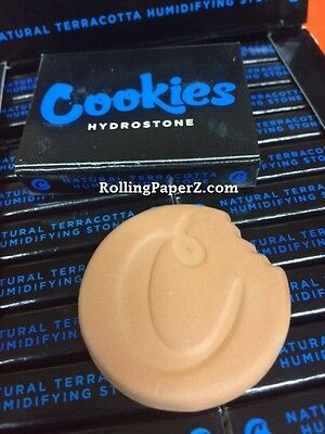 3X Cookies HYDROSTONE Harvest Club SF All natural TerraCotta tobacco Humidifiers