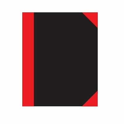 A5 Red and Black Notebook - Note Pad Book Ruled Pages